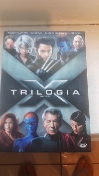Dvd Box Trologia X-men - Dvd Originais