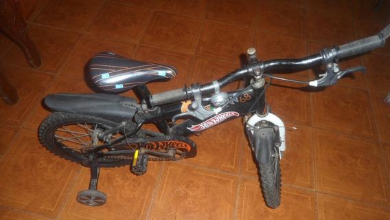 Bicicleta Para Niño Rin 16 En Muy Buen Estado Hotweels