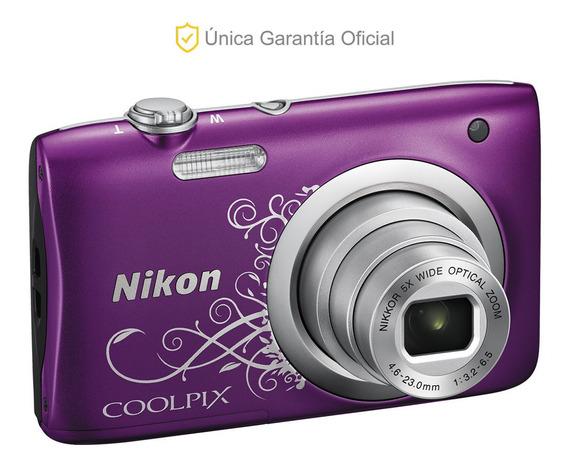Nikon Oficial Cámara Coolpix A100 Ultra Compacta