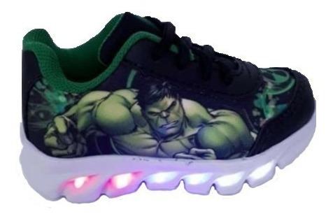 Tenis Infantil Hulk Patrulha Canina Homem Aranha