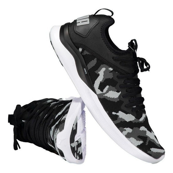 Tênis Puma Ignite Flash Camo Preto