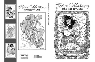 Japanese Outlines By Alex Martinez. Libros Tatuaje / Tattoo