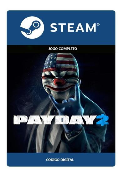 Payday 2 Steam - Código De 17 Digítos (s/ Juros)