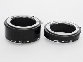Tubos De Extenção Nikon Pk12 E Pk 13 Original Nikon