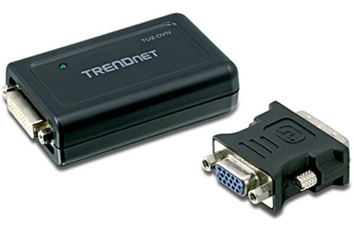 Trendnet Conversor Usb Para Vga-dvi - Externo Tu2-dviv