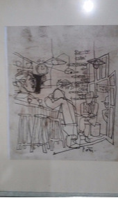 Poty Lazzarotto - Desenho Nanquin Sobre Papel