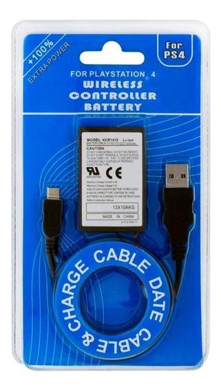 Bateria Controle Playstation 4 Play Ps4 Dualshock 2000mah