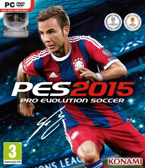 Pro Evolution Soccer 2015 Original Frete Gratis Pc/notebook!
