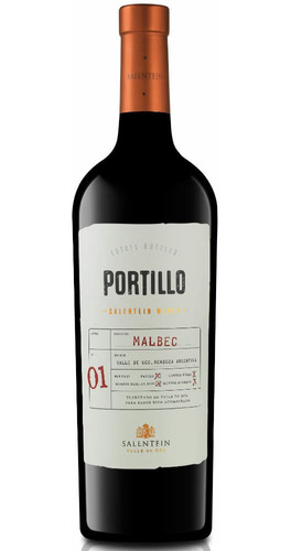 Vino Portillo Malbec 750ml Salentein Local