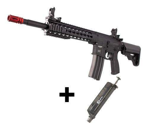 Imagem 1 de 5 de Rifle Airsoft Ar15 Rossi Neptune 10 Keymod Nova E Nota