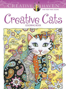Creative Haven Creative Cats Coloring Book - Creative Haven