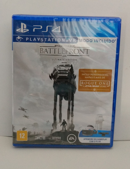 Star Wars Battlefront Ps4 Mídia Física Lacrado (novo)