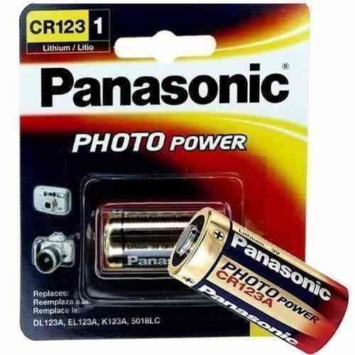 Imagem 1 de 2 de Bateria Photo Lithium Cr123a 3v Com Kit C/3 Un. Original