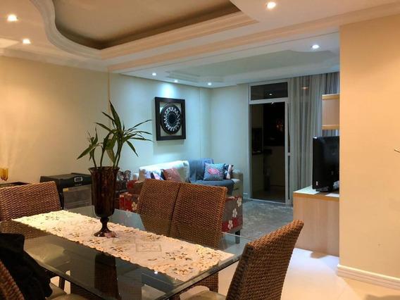 Apatamento 3 Dormitórios(suite) - Semimobiliado - Centro, Santo Amaro Da Imperatriz - - Ap5824