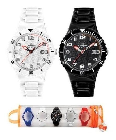 Relógio Champion Troca Pulseiras Unissex Cp38086x Pequeno
