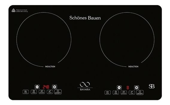 Schönes Bauen Parrilla De Inducción Bavaria 2 Zonas120v