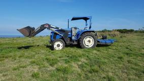 Tractor Europard 654 Con Pala Y Chirquera