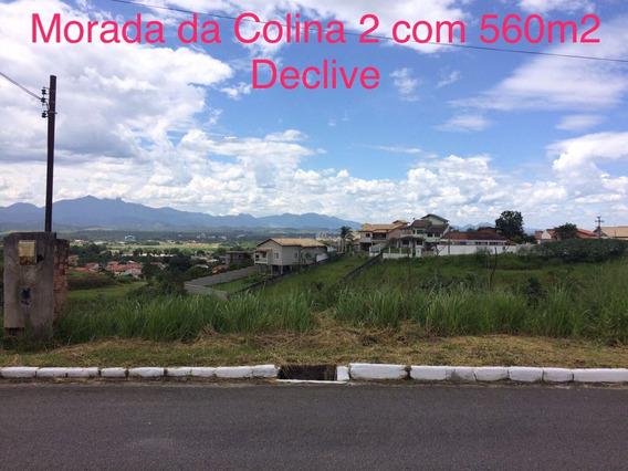 Terreno Em Declive Com 560m2 Morada Da Colina Resende-rj
