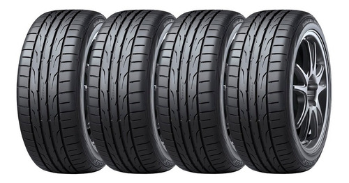 Kit 4 Neumáticos 205 55 15 Dunlop Dz102 Vw Cross Fox Audi A1