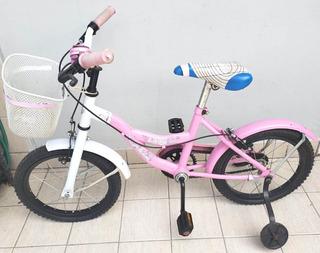 Bicicleta Dolphin Rodado 16 Niña