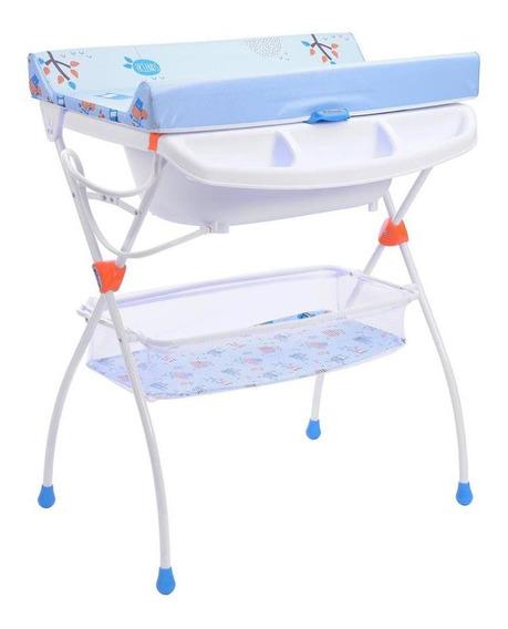 Bañera Prinsel Onda Buhos Azul