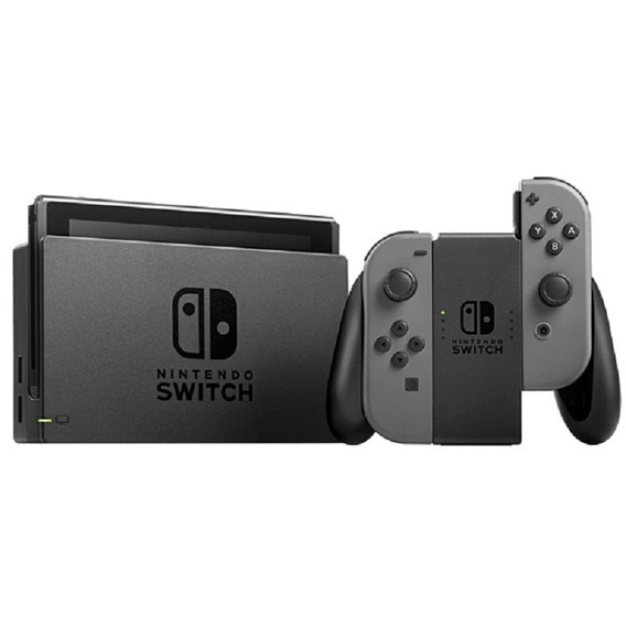 Console Nintendo Switch 32gb Cinza / Gray P/ Entrega