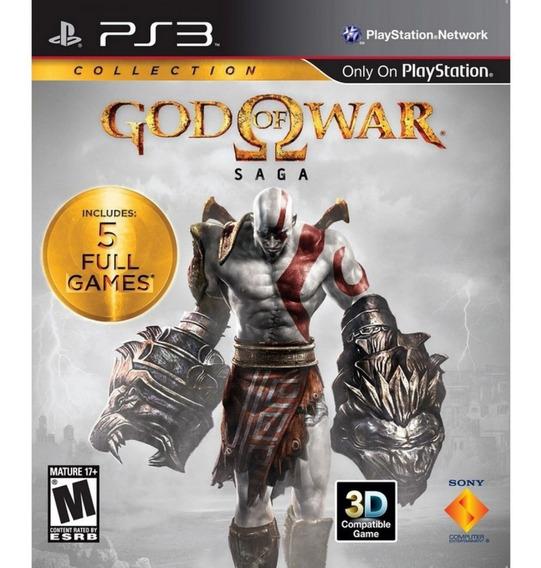 God Of War Saga Collection Ps3 Mídia Física Lacrado