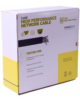 Bobina De Cable 100% Cobre Utp Cat5 100 Mts Linkedpro