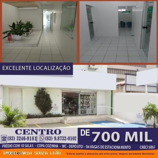 Sala Comercial Para Venda Em João Pessoa, Centro - 7432