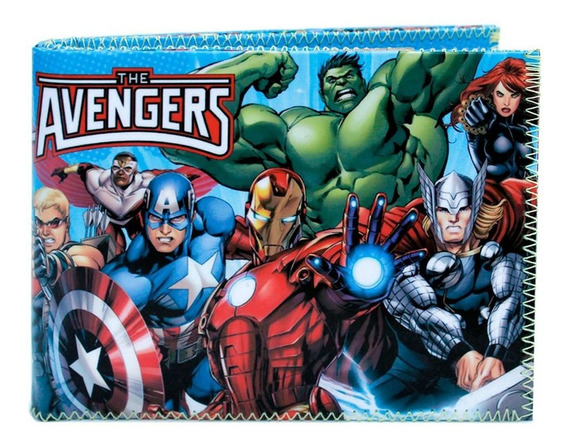 Avengers Billetera Marvel Superheroes