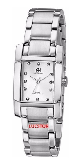 Relógio Ana Hickmann Prata Feminino Ah28008qfrete Gratis