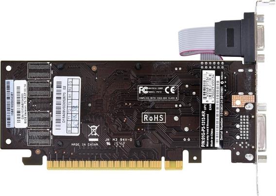 Placa De Video Nvidia Geforce G210 1gb Ddr3 Garantia