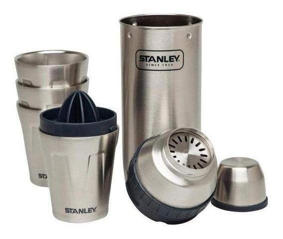 Set Coctelera Stanley Acero Inoxidable Exprimidor 2 Vasos