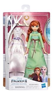 Muñeca De La Pelicula Frozen 2 Anna Modas De Arandelle