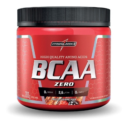 Bcaa Zero Carbo 200gr Integralmedica