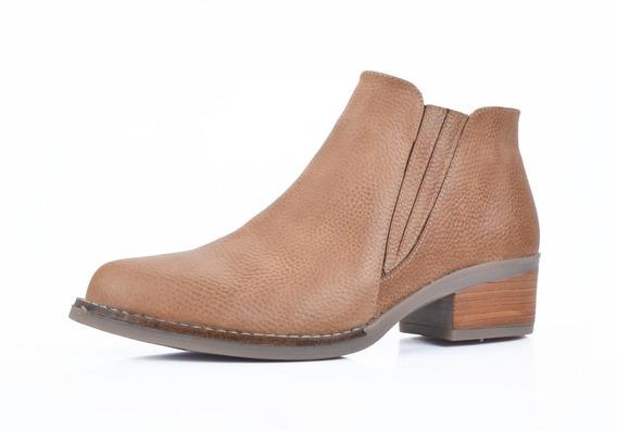 Botita Cuero Calzado Mujer Riot Zapatos