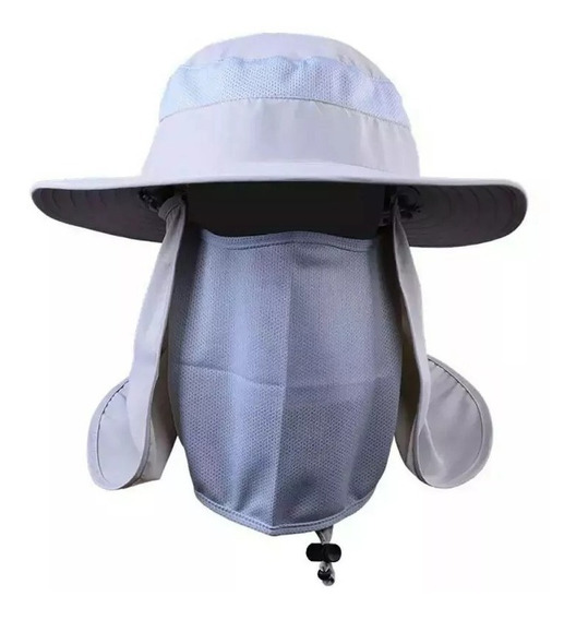 Sombrero Protector Sol Camping Pesca Caza Ingeniero Oferta