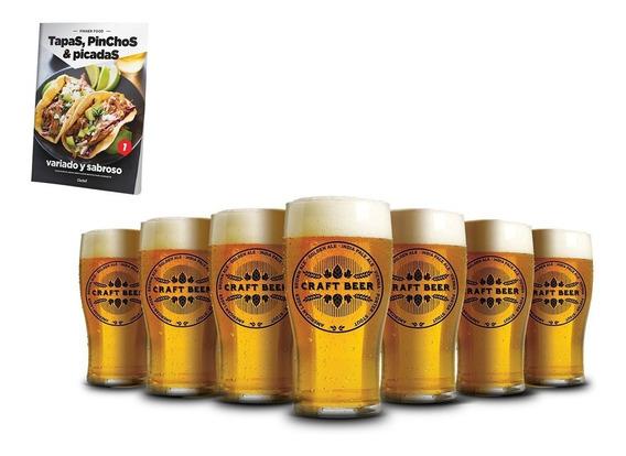 Clarín Colección Finger Food Con 12 Vasos Cerveceros