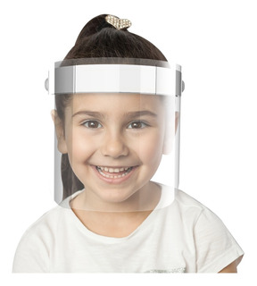 Máscara Protetor Facial Infantil Face Shield Articulada