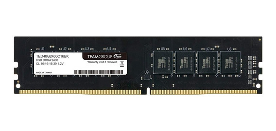 Memoria Ram Ddr4 8gb 2400mhz Teamgroup Elite Pc Ted48g2400c1601