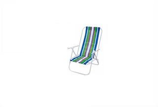 Par De Cadeiras Reclinavel 4 Posições Alumínio Bel-prazer
