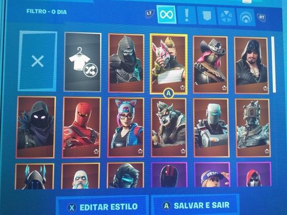 Fortnite,35 Skins Muitas Picaretas E Danças