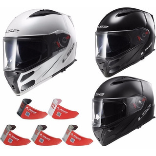 Visor Ls2 Ff324 Transparente Tonalizado Espejado Moto Delta