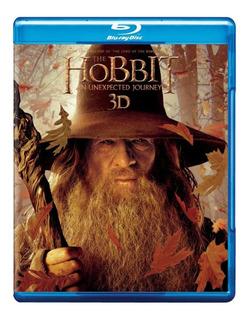 Hobbit Un Viaje Inesperado Bluray 3d + Br + Dvd Nuevo