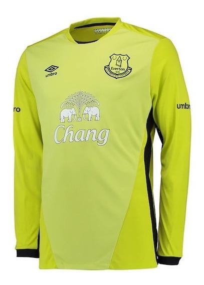 Camiseta Buzo Arquero Everton Original