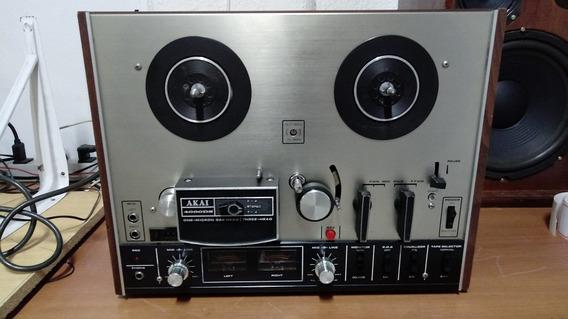 Tape Deck De Rolo Akai 4000 Ds ( Excelente Estado)