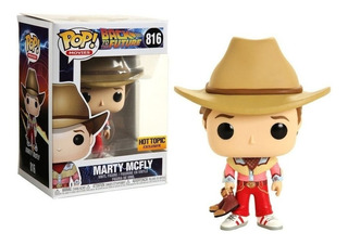 Funko Pop | Volver Al Futuro - Marty Mcfly 816 Hot Topic