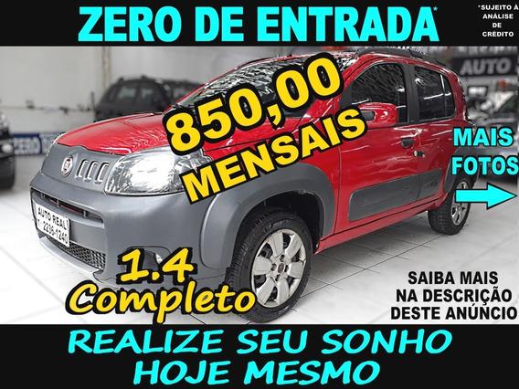 Fiat Uno Way 1.4 Completo / Uno Vivace / Carro Barato É Aqui