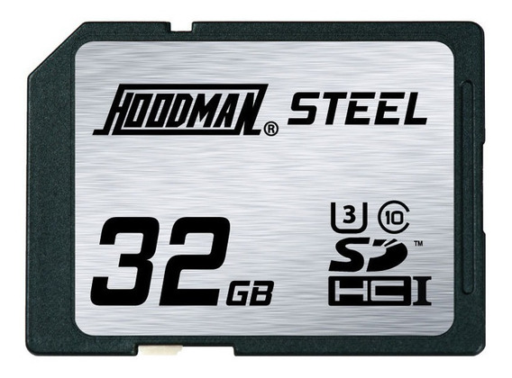 Memoria Sd Hoodman Steel 32gb Sdhc Raw 90 Mb/s Nuevas