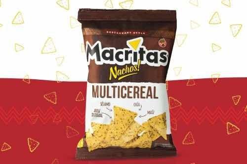 Snacks Macritas Multicereal 90gr (caja 12 Unidades)